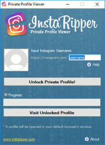 Instagram Private Profile Viewer - InstaRipper